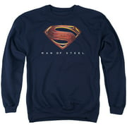 Man Of Steel Mos New Logo Mens Crewneck Sweatshirt