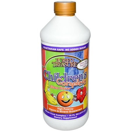 Buried Treasure Children's Complete Multivitamin Liquid Supplement, 16 FL