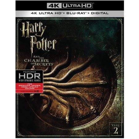 Harry Potter And The Chamber Of Secrets (4K Ultra HD + Blu-ray) (VUDU Instawatch Included) (VUDU Instawatch Included) - The Real Story Of Halloween Hd