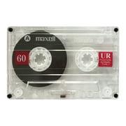 Maxell 109010 Ur60 Cassette Tape (single)