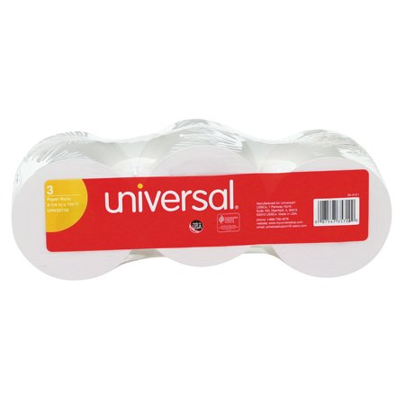 Universal Adding Machine/Calculator Roll, 16 lb, 1/2