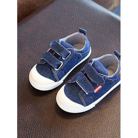 Toddler Kids Baby Girls Boys Casual Soft Sole Canvas Sneaker Walking Shoes