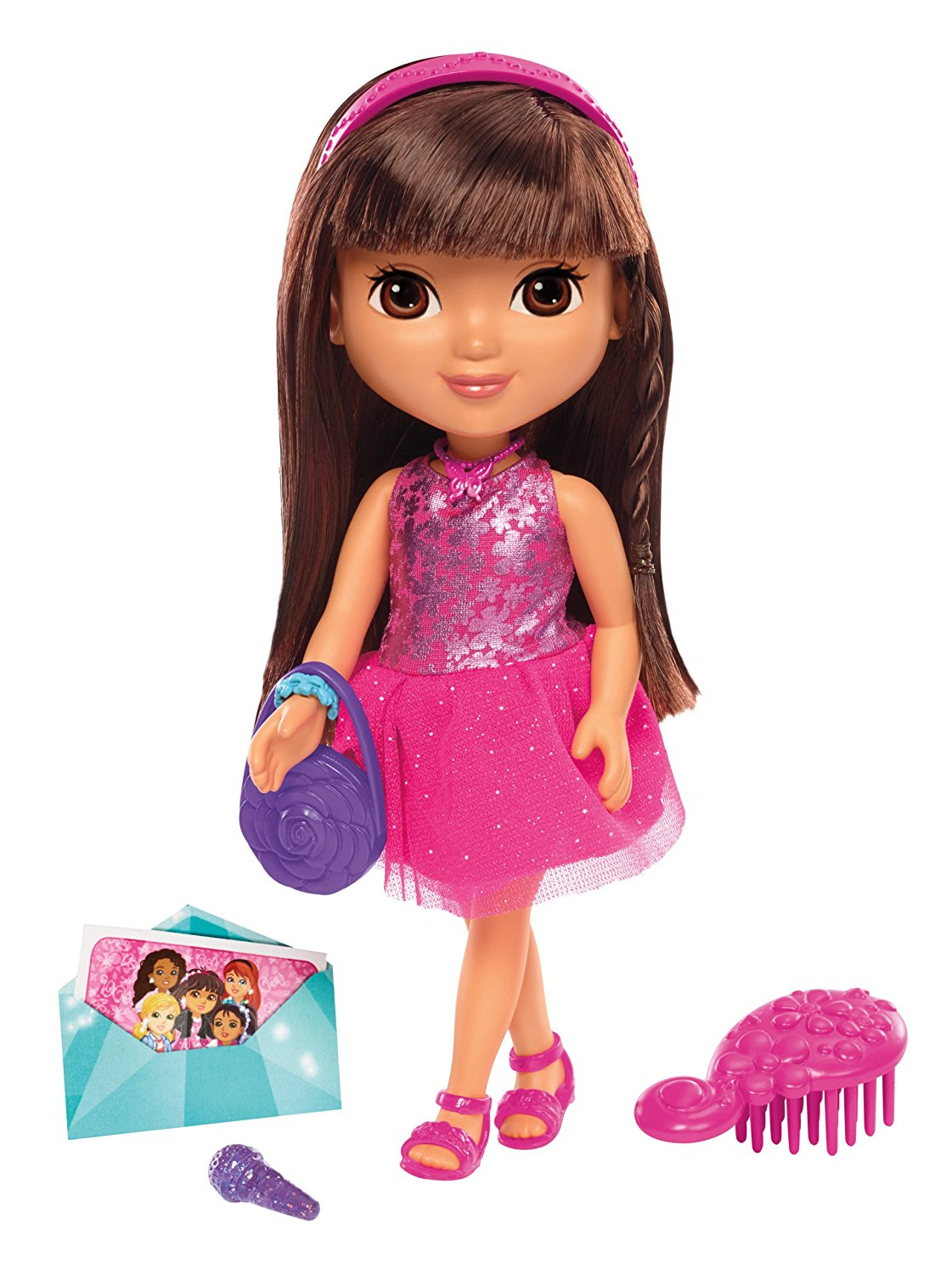 Fisher Price Nickelodeon Dora & Friends Dance Party Dora, Join Dora for a night of fun and... by