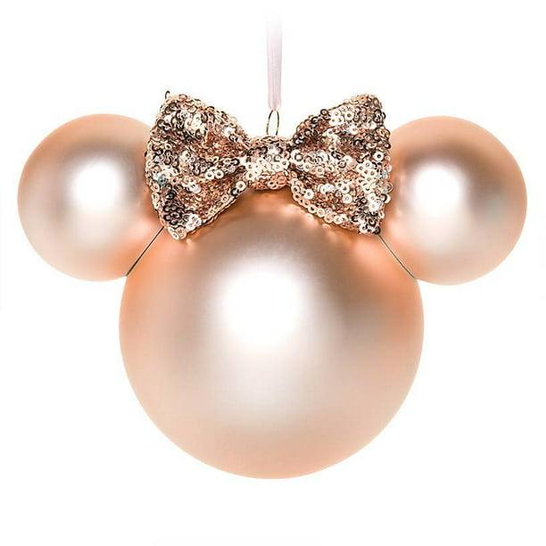 Disney Parks Minnie Mouse Icon Ornament Briar Rose Gold New With Tags Walmart Com Walmart Com