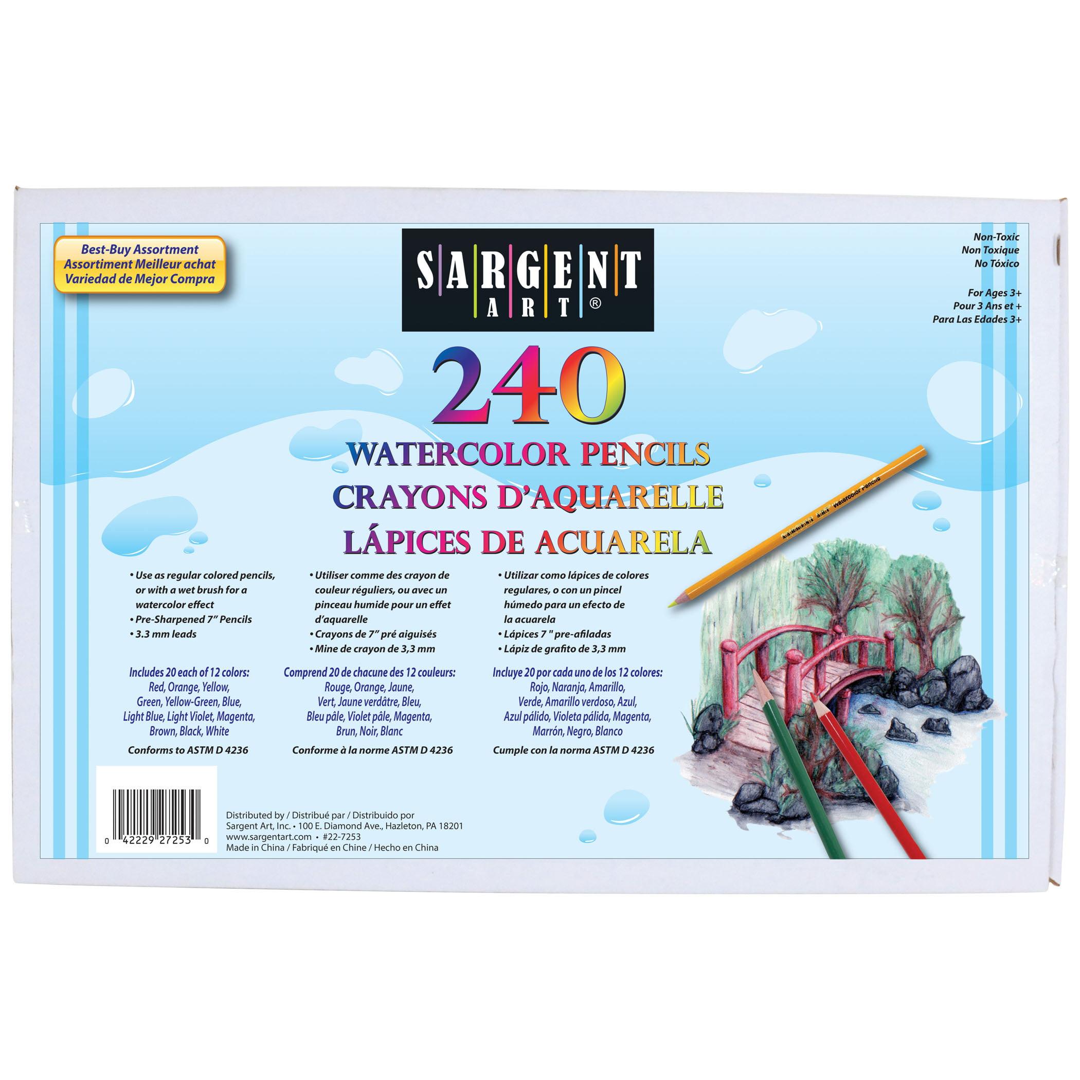 Sargent Art® Best-Buy Colored Pencil Assortment, 240 ct