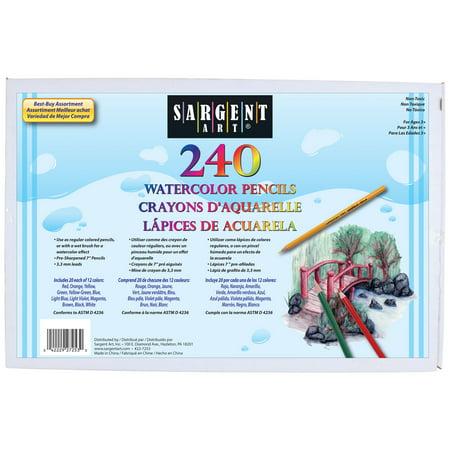 Sargent Art® Best-Buy Colored Pencil Assortment, 240