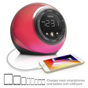Ihome IBT297 App-enhanced Bluetooth Color Chang