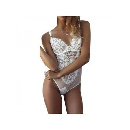 Lace Dress Babydoll Women's Underwear Nightwear Sleepwear Bodysuit HOT