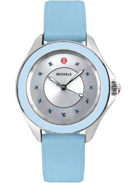 Michele Cape Analog Silicone Ladies 40mm Watches