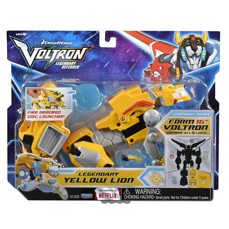 Legendary Yellow Lion, Includes the Soul Surge projectile launcher By  Voltron