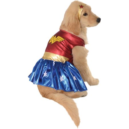 Wonder Woman Deluxe Dog Costume - Large - Best Dog Costumes Ever
