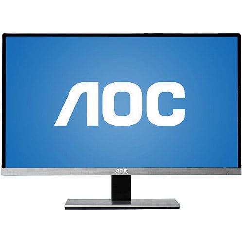 """AOC Monitor 22"""" Class IPS Panel Full HD 1920x1080 50M:1 VGA DVI-D I2267FW"""
