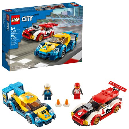 LEGO City Racing Cars 60256 Buildable Toy for Kids (190 Pieces)