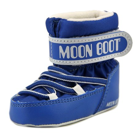 tecnica moon boot crib infant round toe canvas blue winter. Black Bedroom Furniture Sets. Home Design Ideas