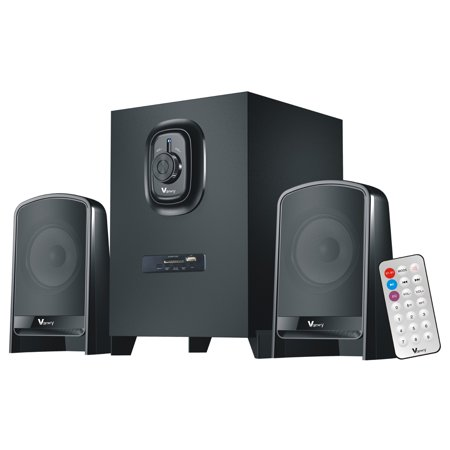 Reactionnx VM-109 2.1 Bluetooth Subwoofer Speaker System Computer Active Multimedia Subwoofer Perfect for Gaming, Movies, Music, and Multimedia Sound