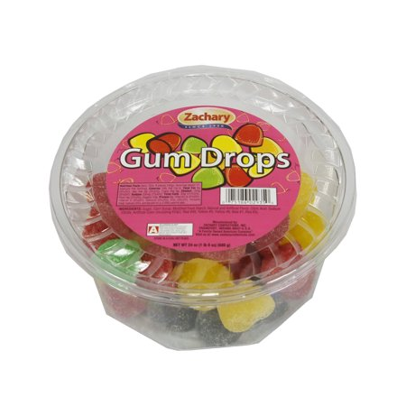 Zachary, Gum Drops Candy, 24 Oz ()