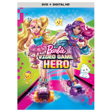Barbie: Video Game Hero (DVD + Digital - Female Dual Link Digital Video