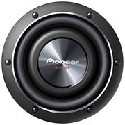 PIONEER PIOTSSW2002D2B 8 inch 600-Watt Shallow Subwoofer with Dual 2O Voice Coils