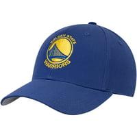 Youth Royal Golden State Warriors Basic Adjustable Hat - OSFA