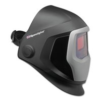 3M Personal Safety Division Speedglas 9100 Series Helmets, 5; 9100V, Black/Silver, 1.8 in x 3.7 in