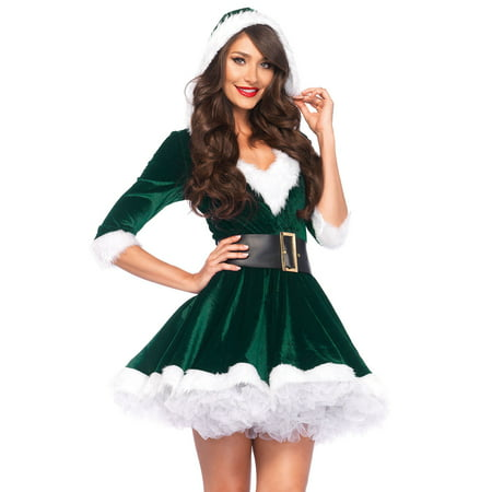 Leg Avenue Women's Mrs. Claus Costume (Diy Tree Costume)