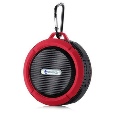 Waterproof Bluetooth Speaker Mini Wireless Shower Radio Suction Cup Stereo Speaker ()