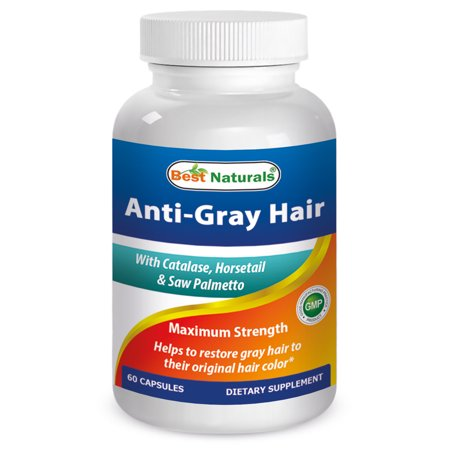 Best Naturals Anti Gray Hair, 60 Ct
