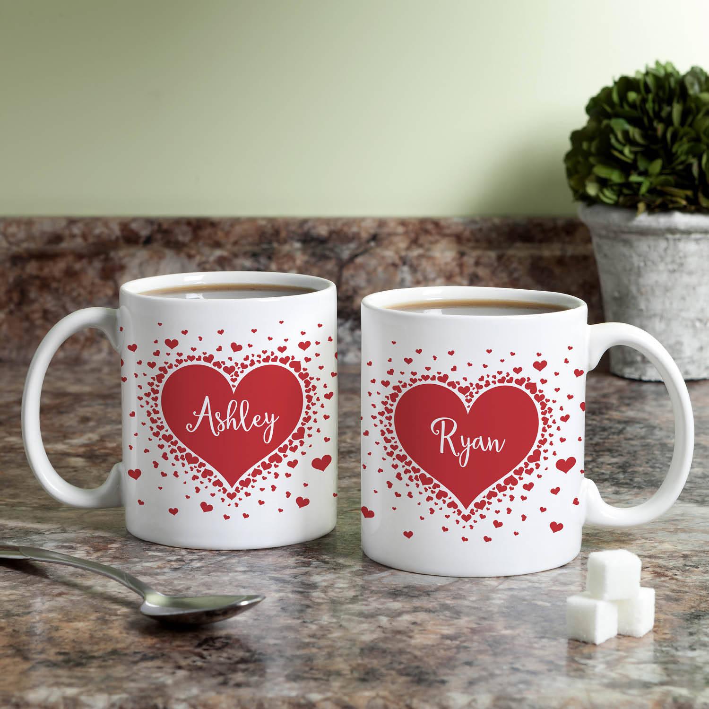 Personalized A Million Hearts Mug