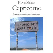 Capricorne - Ebauche de Tropique du Capricorne - eBook