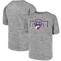 FC Dallas Fanatics Branded Youth Just Getting Started Raglan T-Shirt - Heathered Gray