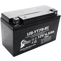 Replacement 2002 Suzuki DR-Z400, E, S, SM 400CC Factory Activated, Maintenance Free, Motorcycle Battery - 12V, 6Ah, UB-YT7B-BS