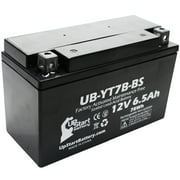Replacement 2004 Suzuki DR-Z400, E, S, SM 400CC Factory Activated, Maintenance Free, Motorcycle Battery - 12V, 6Ah, UB-YT7B-BS