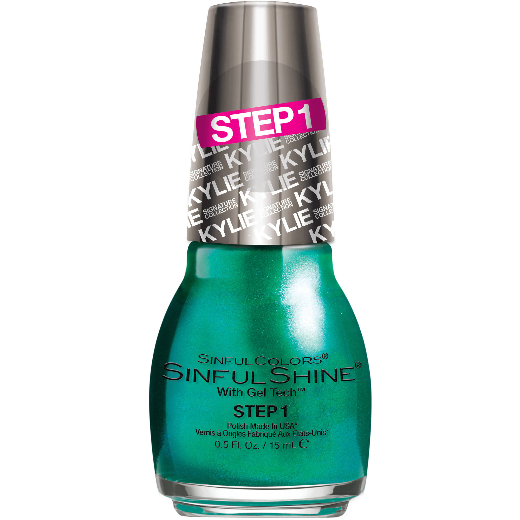SinfulColors SinfulShine King Kylie Step 1 Nail Polish, 0.5 fl oz