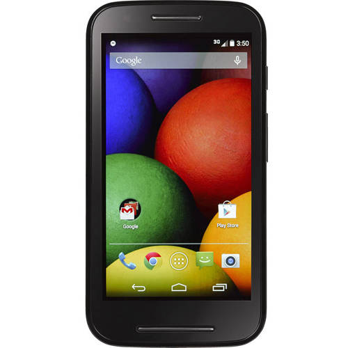 Refurbished Motorola Moto E XT830C - Straight Talk 4GB Black Prepaid Smartphone