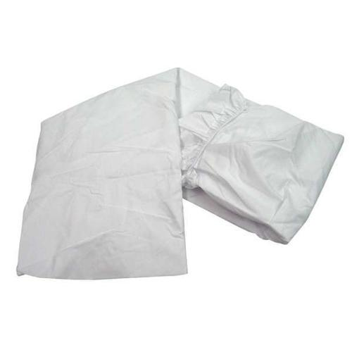 "80"" Fitted Sheet, White ,R & R Textile, X30020"
