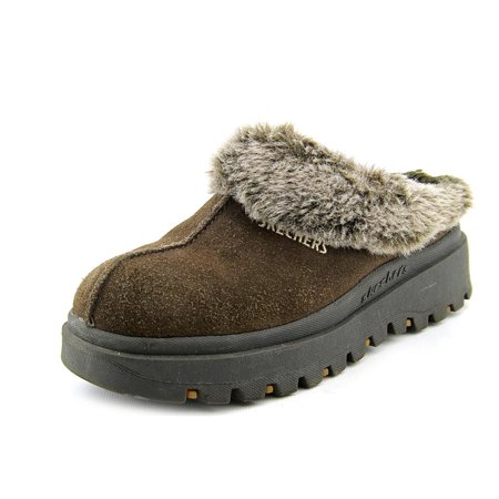 Skechers USA Shindigs Fortress Women Round Toe Suede Clogs