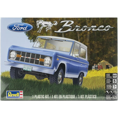 Plastic Model Kit-Ford Bronco 1:25