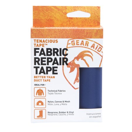 Gear Aid Tenacious Tape Ultra Strong Flexible Fabric Tent Gear Repairs Fix Rips