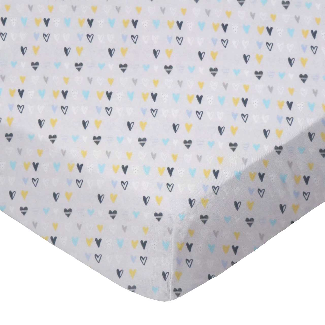 SheetWorld Fitted 100/% Cotton Percale Portable Mini Crib Sheet 24 x 38 Made in USA Nautical Blue
