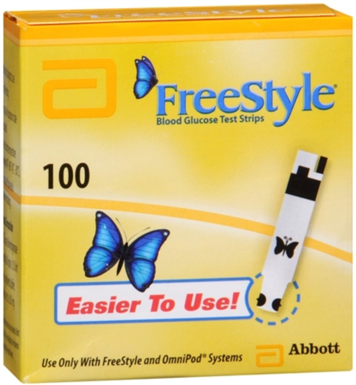 FreeStyle Blood Glucose Test Strips 100 Each (Pack of 4)