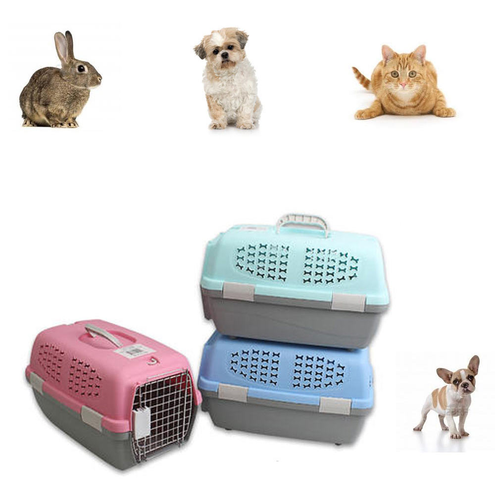Pet Carrier Portable Dog Cat Crate Travel Small Light Weight Cage Kennel Case !! by 4SGM