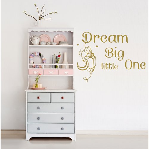 Decal House Dream Big Little One Wall Decal