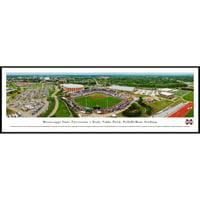 Mississippi State Baseball - Super Bulldog Weekend - Blakeway Panoramas NCAA College Print with Standard Frame