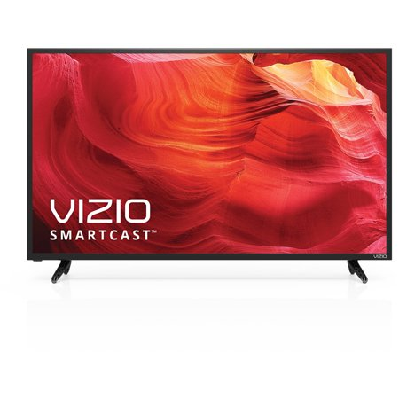 Vizio E40-D0 1080p 40″ LED Smart TV, Black  (Certified Refurbished)