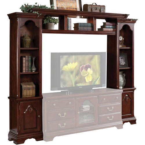 """Acme Hercules Entertainment Center for TV up to 59"""", Cherry"""
