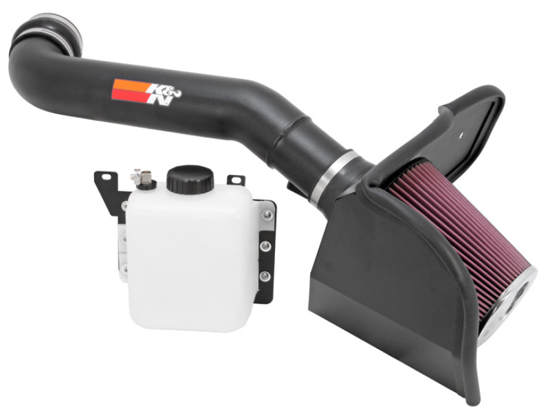 K Amp N Cold Air Intake Kit With Washable Air Filter 2010