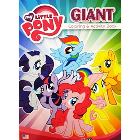 70 My Little Pony Giant Coloring Book Free