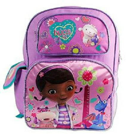 Doc Mcstuffins Bag (Backpack - Disney - Doc McStuffins - w/Hippo Girls Bag School Bag)