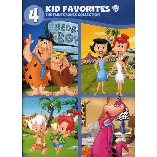 4 Kid Favorites: The Flintstones (Full Frame) by WARNER HOME ENTERTAINMENT