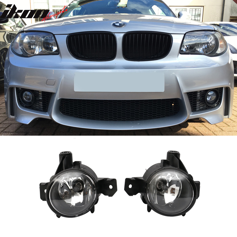 Fits 07-11 BMW E82 Coupe Fog Lights Lamp Replacement Pair